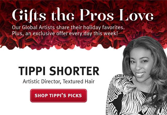 gifts the pros love. tippi shorter, artistic director, textured hair. shop tippi's picks