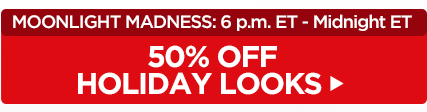 50% off Holiday Looks!