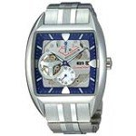 Orient FHAB001D Men's Retro Future Car Blue Dial Automatic Power Reserve Watch