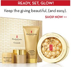 READY, SET, GLOW! Keep the giving beautiful, (and easy). SHOP NOW.
