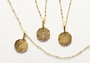 Make It Personal: Initial Jewelry
