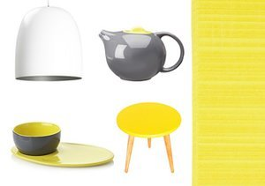 Pop of Yellow: Décor Accents