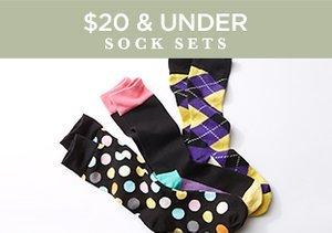 $20 & Under: Sock Sets