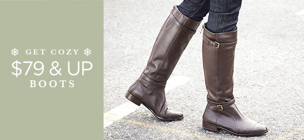 $55 & Up: Boots