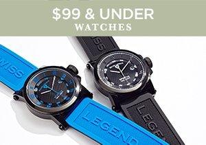 $99 & Under: Watches