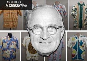Shop Harry S. Truman: Hawaiian Shirt Lover, Style Hero
