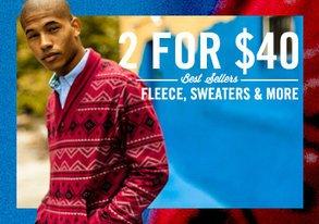 Shop 2 for $40 Best Sellers ft. Fleece