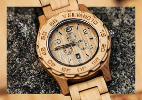 Shop Wood Watches & More Under $75