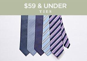 $59 & Under: Ties