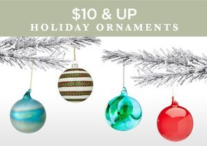 $10 & Up: Holiday Ornaments