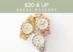 $20 & Up: Breda Watches