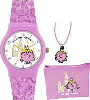 Childrens Mr Men Little Miss Princess Gift Set