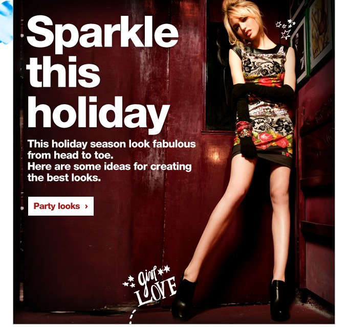 Sparkle this holiday