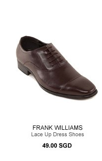 Frank Williams Lace Up Dress Shoes