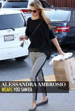 Alessandra Ambrosio in Yosi Samra