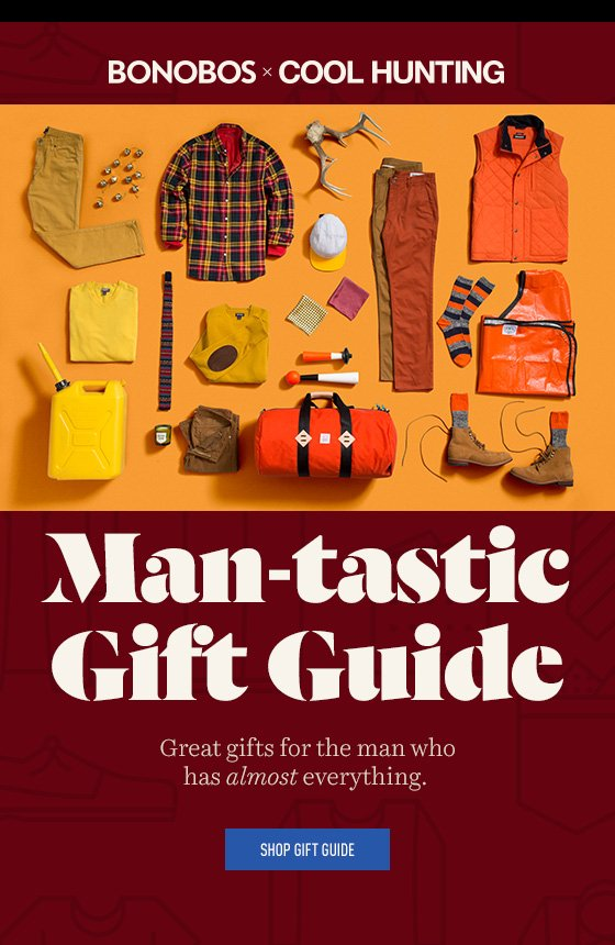 Bonobos + Cool Hunting Gift Guide