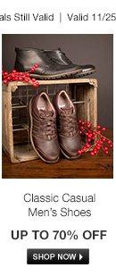 Classic Men's Footwear