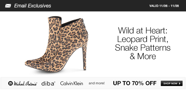 Wild at Heart: Leopard Print, Snake Patterns and More