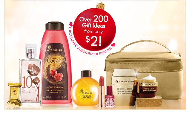 OVER 200 GIFT IDEAS FROM ONLY $2!