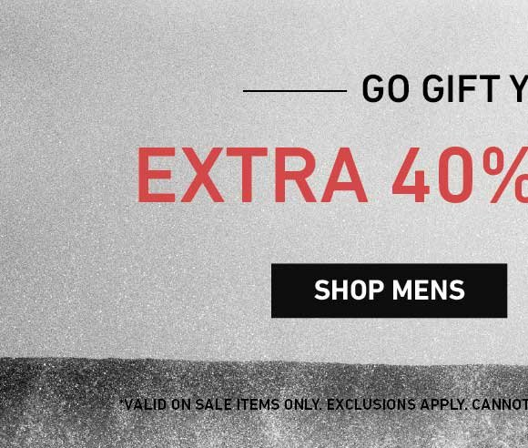 You Saw It First: Shop Men's Extra 40% Off Sale.