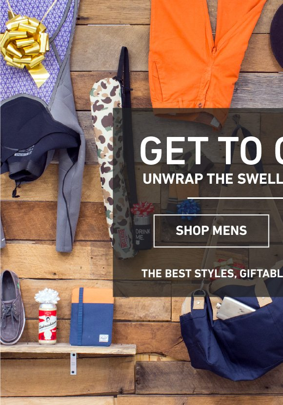 Shop The Men's Holiday Gift Guide