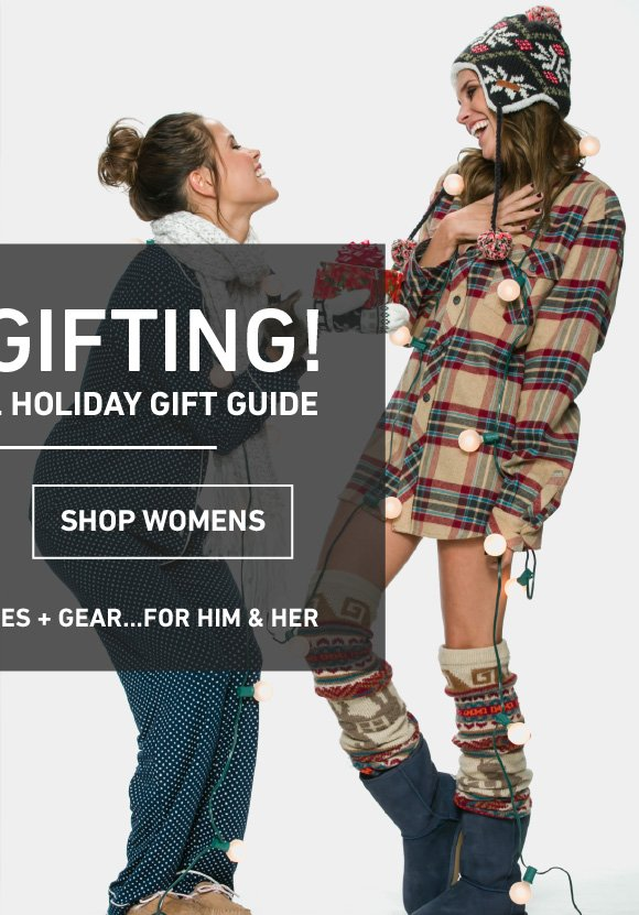 Shop The Women's Holiday Gift Guide