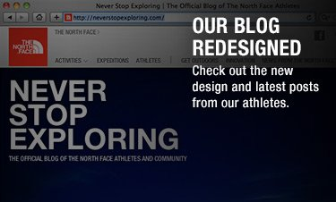 OUR BLOG REDESIGNED - check out the new design and latest posts from our athletes