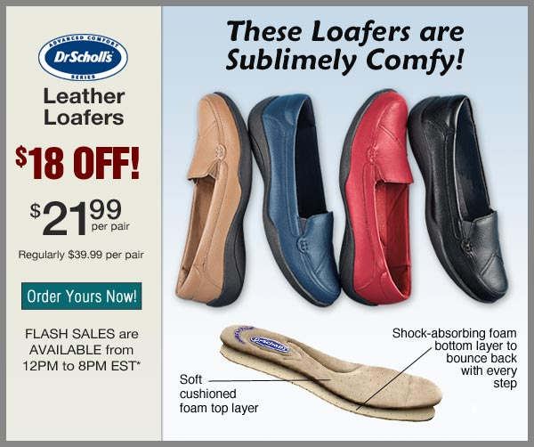 $18 OFF Leather Loafers