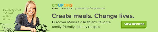 Create Meals. Change Lives. View Recipes