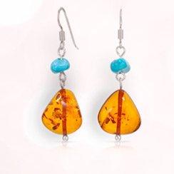 Amber & Turquoise Jewelry