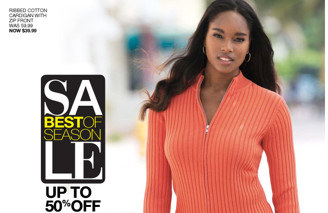 Best of Season Sale, Up to 50% off