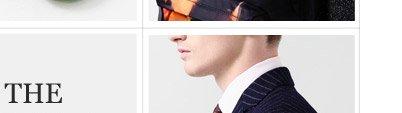 ALEXANDER MCQUEEN Navy Slim-Fit Jacquard Wool Suit