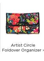 Artist Circle Foldover Organizer