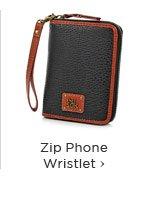 Zip Phone Wristlet