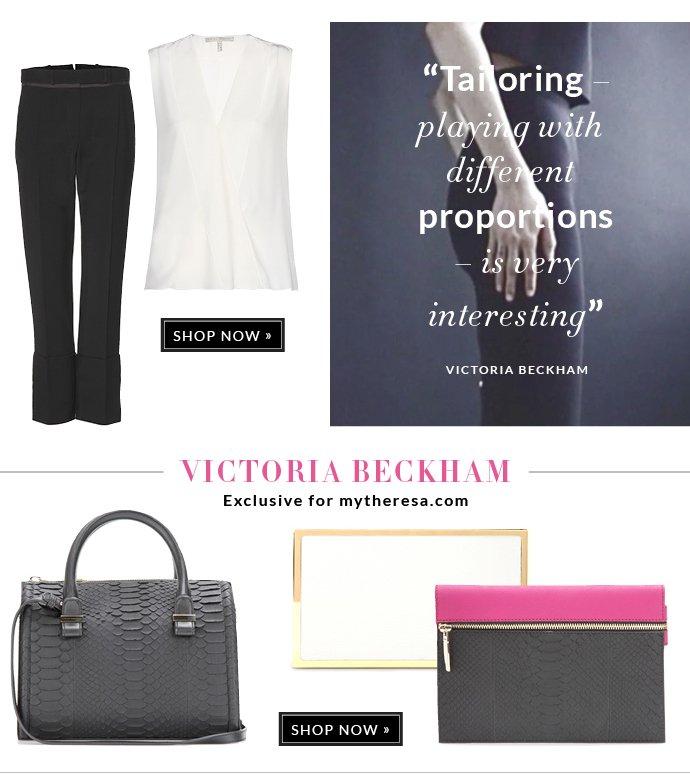 VICTORIA BECKHAM EXCLUSIVE FOR MYTHERESA.COM