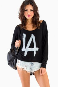 L.A. Love Scoop Neck Top 26