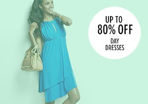 Up to 80% Off: Day Dresses