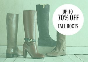 Up to 70% Off: Tall Boots