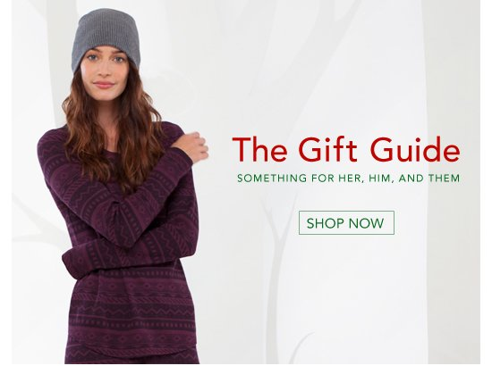 The Gift Guide - Shop Now