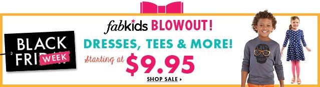 FabKids Blowout Sale!