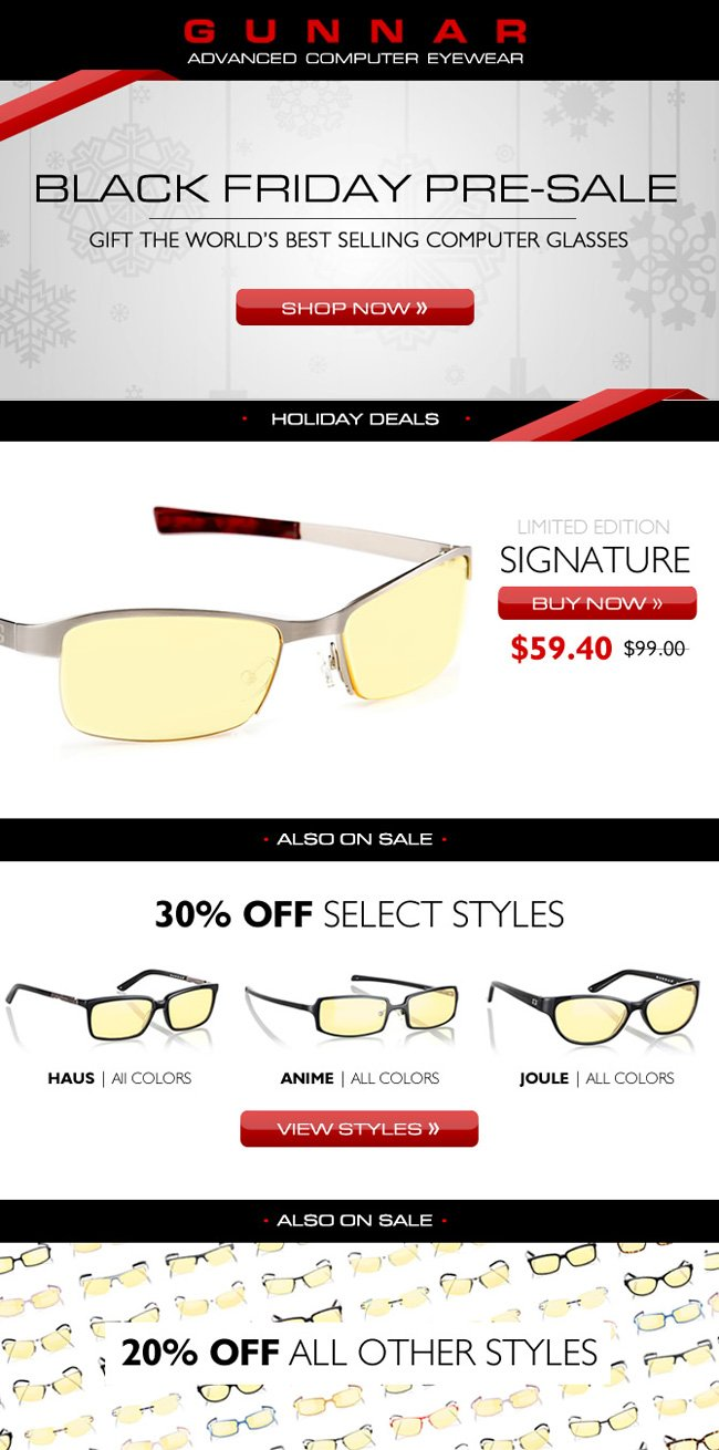 Eye Popping Deals | Up to 40% off GUNNAR Computer and Gaming Glasses
