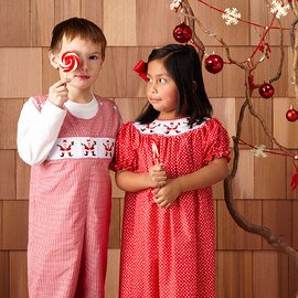 Smocked for the Season: Kids' Apparel