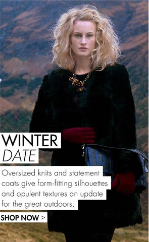 WINTER DATE - SHOP OVERSIZED KNITS & STATEMENT COATS