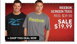 Shop Select Reebok Screen Tees