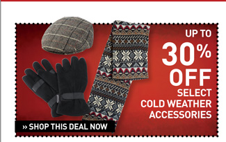 Shop BOGO 50% Off Cold Weather Accessories