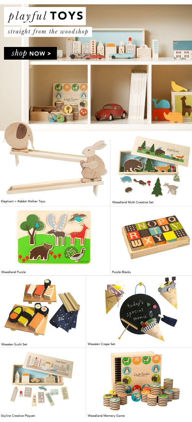 For the Littles: Playful Toys!