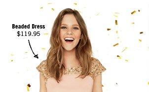 Beaded Dress $119.95