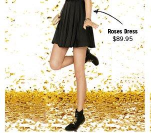 Roses Dress $89.95