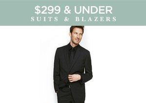 $299 & Under: Suits & Blazers