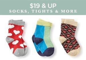 $19 & Up: Socks, Tights & More